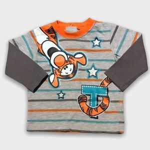 4/$20🥳 Disney Long Sleeve Tigger Gray Shirt